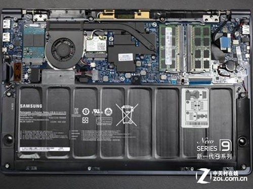 三星(samsung)900x3a-b01笔记本电脑拆解图评测-zol