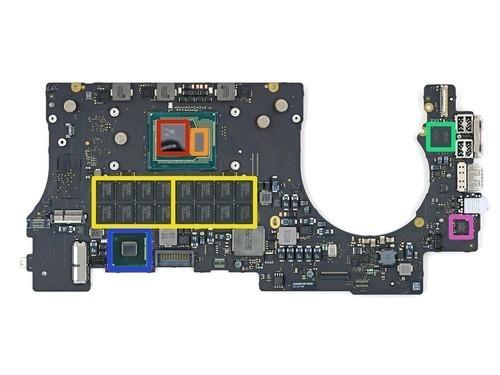 苹果电脑主板电路图