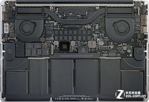 苹果(Apple)MacBook Pro ME664ZP/A笔记本电脑拆解图评测-ZOL